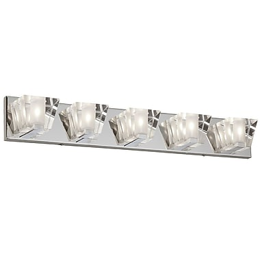 Radionic Hi Tech Ellipse 5-Light Vanity Light