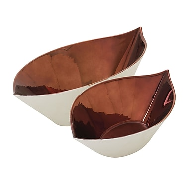 Woodland Imports 2 Piece Bowl Set