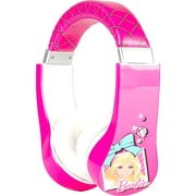 Sakar® 30359 Kids Safe Friendly Stereo Headphone, Barbie Kids