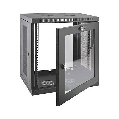 Tripp Lite SRW12UG SmartRack 12U LowProfile SwitchDepth WallMount Rack Enclosure Cabinet, (SRW12UG)