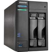ASUStor 16TB 2 Bays NAS Server, AS6202T