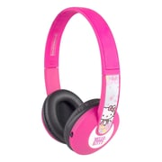 Sakar® Bluetooth Kids Safe HP2-06009 Over-The-Head Stereo Headphone, Hello Kitty