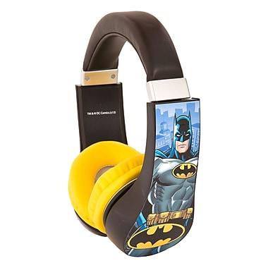 Sakar® 30382 Kids Safe Friendly Stereo Headphone, Batman