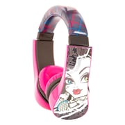 Sakar® Kids 30348 Monster High Kids Safe Friendly Over-the-Head Headphone