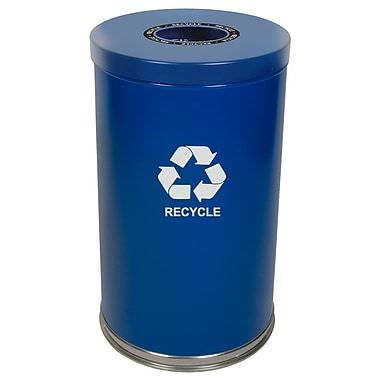 Single Stream Recycle Unit, Blue