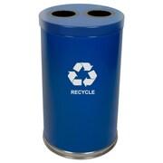 Dual Stream – Bac de Recyclage, bleu