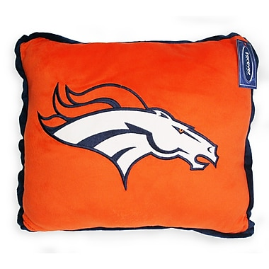 Denver Broncos Contrast Trim Pillow