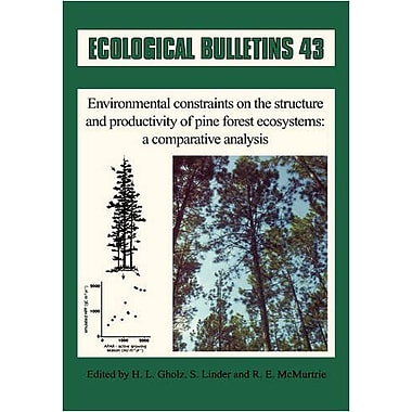 Ecological Bulletins Environmental Constraints On The Structure And Productivity Of Pine Forest Ecosys, New Book (9788716151322)