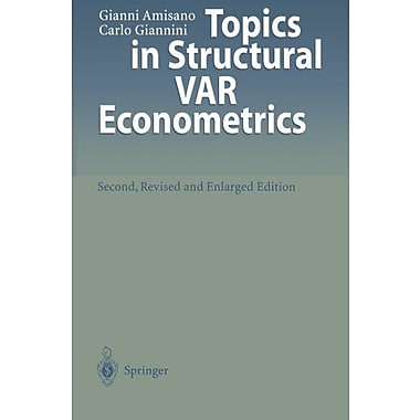 Topics In Structural Var Econometrics, Used Book (9783642644818)
