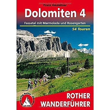 Dolomiten Pt 4 Fassatal Mit Marmolada And Rosengarten German Edition (9783763340613)