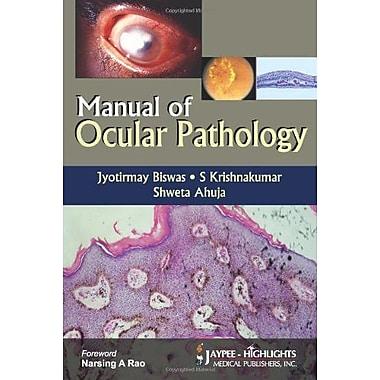Manual Of Ocular Pathology, New Book (9788184489125)