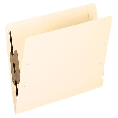 Pendaflex® Laminated End-Tab Folder with # 1 Fastener Position, Letter Size, Manila