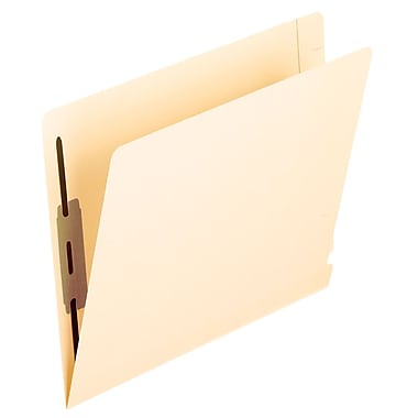 Pendaflex® Laminated End-Tab Folders with #1 and #3 Fastener Position, Letter Size