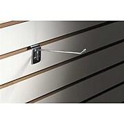 "FFR Merchandising® 7 Gauge Metal Slatwall Hook With Ball End, 6""L, 15/Pack"