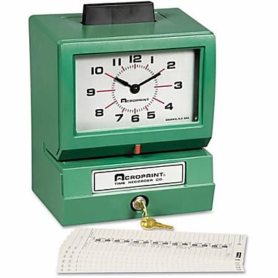 Model ATR120 Analog//LCD Automatic Time Clock by Acroprint