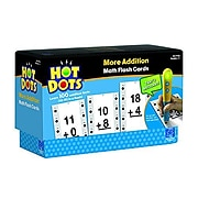 Educational Insights® Hot Dots® More Addition Facts 10-19 Flash Card Set, Grade 1+