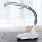 Lavish Home 72-L1195 LED Sunlight Desk Lamp, White