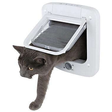 Trixie 4 Way Cat Door w/ Rotary Lock