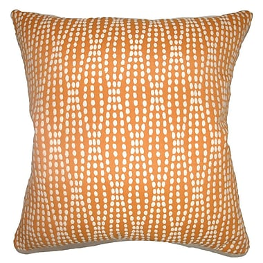 The Pillow Collection Udell Dot Throw Pillow; 20'' x 20''