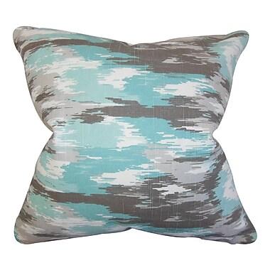 The Pillow Collection Ishi Ikat Throw Throw Pillow; 20'' x 20''