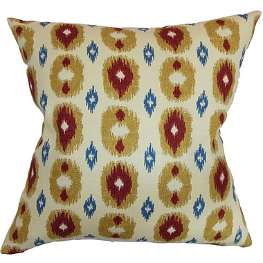 The Pillow Collection Jesolo Cotton Throw Pillow; 18'' x 18''