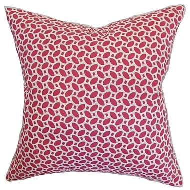 The Pillow Collection Zlin Cotton Throw Pillow; 20'' x 20''