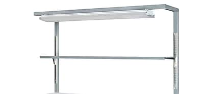Parent Metal Products Cantilever Workbench Light Addition; 38'' H x 72'' W x 12'' D