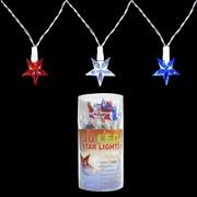 PennDistributing 30 Light Patriotic LED Star Set