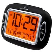 Marathon Watch Company Alarm Clock; Black