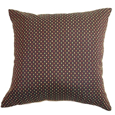 The Pillow Collection Landon Dots Throw Pillow; 20'' x 20''