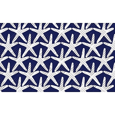 Evergreen Enterprises, Inc Starfish Embossed Mat