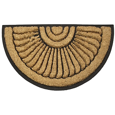 Robert Allen Home and Garden Medalion Doormat
