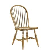 French Heritage Pyrenees Solid Wood Dining Chair; Smokehouse