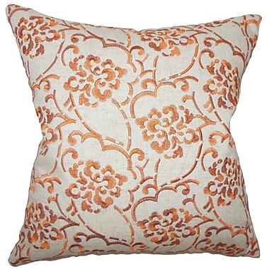 The Pillow Collection Parka Linen Throw Pillow; 20'' X 20''