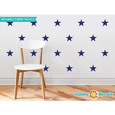 Sunny Decals Stars Wall Decal (Set of 30); Navy