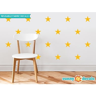 Sunny Decals Stars Wall Decal (Set of 30); Yellow/Orange