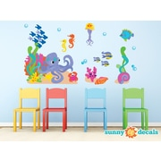Sunny Decals Ocean Wall Decal; Jumbo