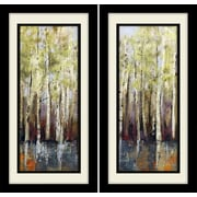 Star Creations ''Forest Whisper'' by Allison Pearce Framed Painting Print