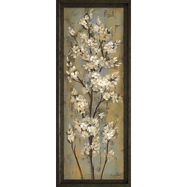 Star Creations ''Almond Branch II'' by Silvia Vassileva Framed Painting Print