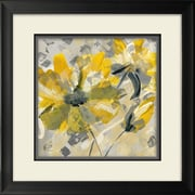 Star Creations ''Buttercup I'' by Katrina Craven Framed Painting Print