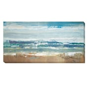 Artistic Home Gallery 'Pastel Waves' by Peter Colbert Painting Print on Wrapped Canvas