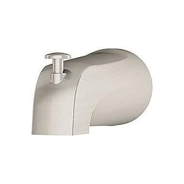 Symmons Unity Diverter Tub Spout; Satin Nickel