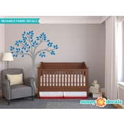 Sunny Decals Beautiful Tree Wall Decal; Blue
