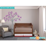 Sunny Decals Beautiful Tree Wall Decal; Purple