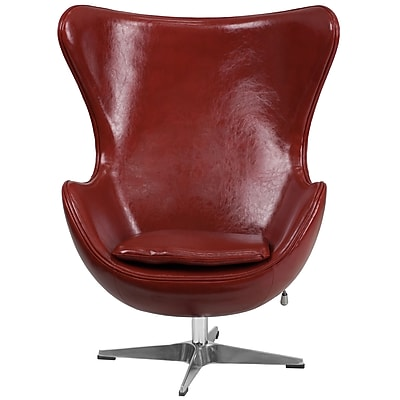 Flash Furniture Cordovan Leather Egg Chair with Tilt-Lock Mechanism (ZB15)