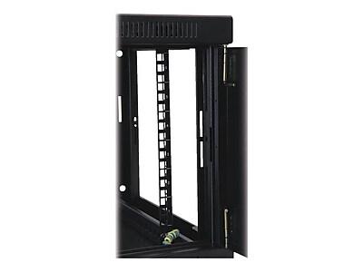 Tripp Lite SmartRack 6U Wall Mount Low-Profile Rack Enclosure Cabinet with Acrylic Window, Black (SRW6UG)
