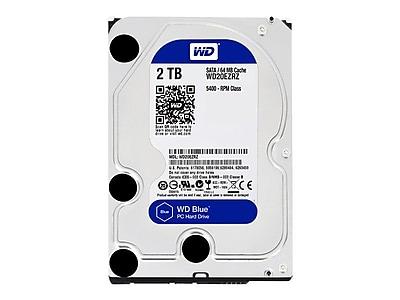 Western Digital ® WD20EZRZ 2TB SATA 6Gbps Internal Hard Drive, Blue