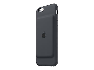 Apple Smart Battery Case for iPhone 6/6s, Charcoal Gray (MGQL2LL/A)