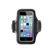 Belkin Slim-Fit Plus Armband Carrying Case for iPhone 5/5s/5c, Blacktop/Gravel (F8W299BTC00)