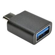 Tripp Lite Type-C USB /Type-A USB Male/Female Adapter, Black (U428-000-F)
